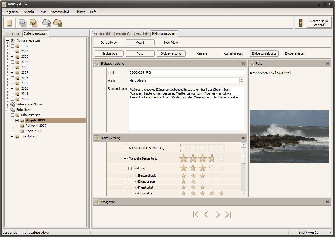 BVASystem 2.1.3 - Bildinformationen