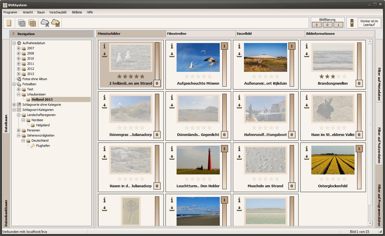 Miniaturbilde mit aktivierter Bildfilterung